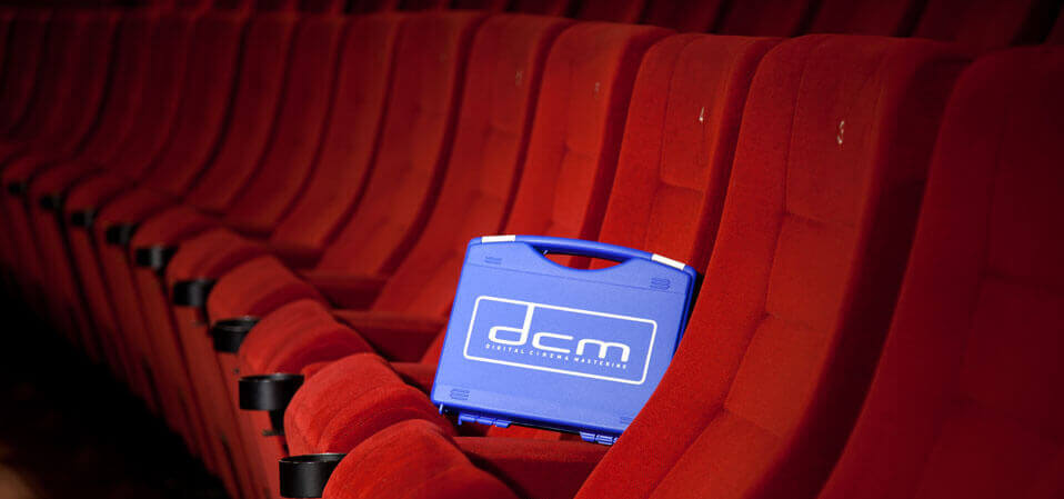 Ihr Digital Cinema Package im Kino