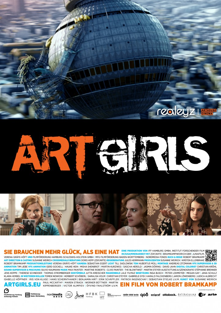 Artgirls Digital Cinema Package erstellt